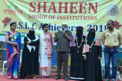 The top achievers of classes 10th & 12th were garlanded for their outstanding performances and hard work