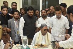 Former Chief Minister of Karnataka Mr. Siddaramaiah today visited Shaheen Group of Institutions, Bidar