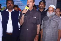 Ghulam Nabi Azad and Opposition leader of Rajya Sabha along with Raheem Khan MLA Bidar dist visited Shaheen Boys Campus