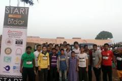 runner across tha country participate in heritage marathon in bidar