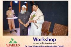 Unleash Your Potential - Personality Development Workshop was organized at Shaheen College, Bidar